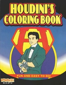 houdinis coloring book