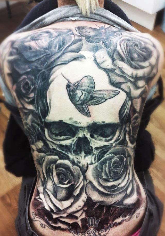 Back Tattoo Men