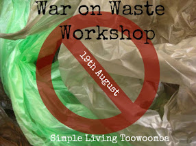 Simple Living Toowoomba Workshop