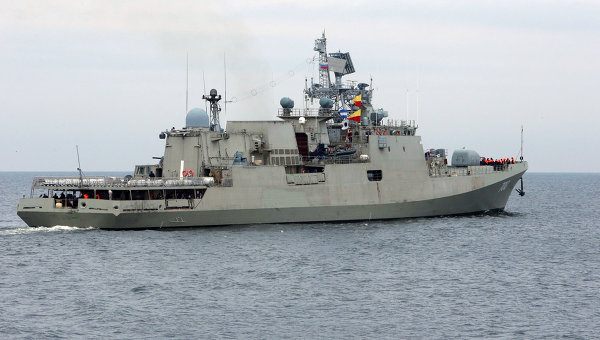 Trikand missile frigate