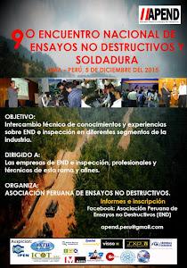 9no Encuentro Nacional de Ensayos No Destructivos y Soldadura