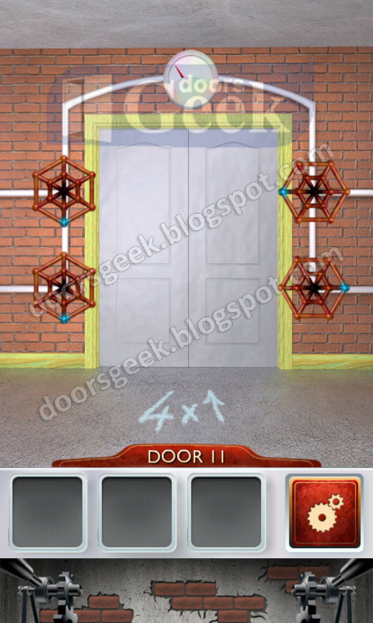 100 doors 2 level 11 doors geek for 100 doors 2 door 11