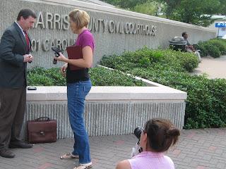 Photo Shoot Preparation for Houston Family Lawyer Jim Evans