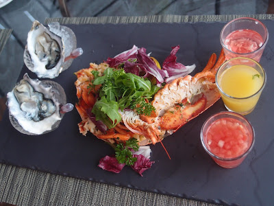 Seafood and Champagne Afternoon Tea