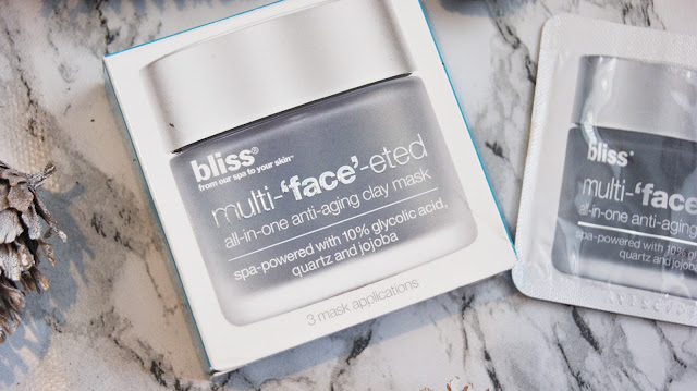 Bliss Multi-'face'-eted All-in-One Anti-Aging Cleansing Mask