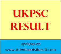 UKPSC Group C Result
