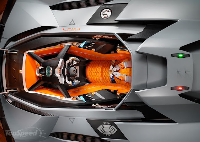 2013 Lamborghini Egoista Concept Car, front view, top view, side view, interior design, exterior design, amazing, new design, price, drivetrain, lunched, release