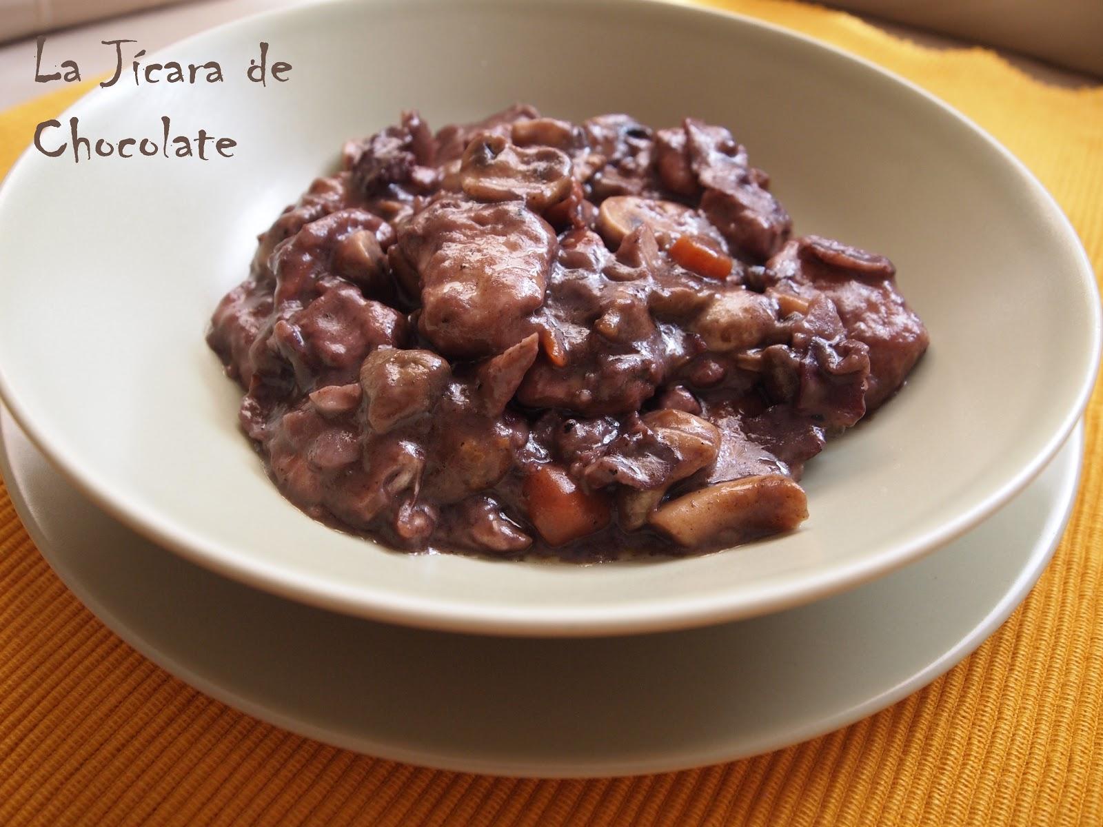 La Jícara de Chocolate: Coq au Vin o Pollo al Vino