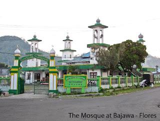 Mesjid di Bajawa Flores