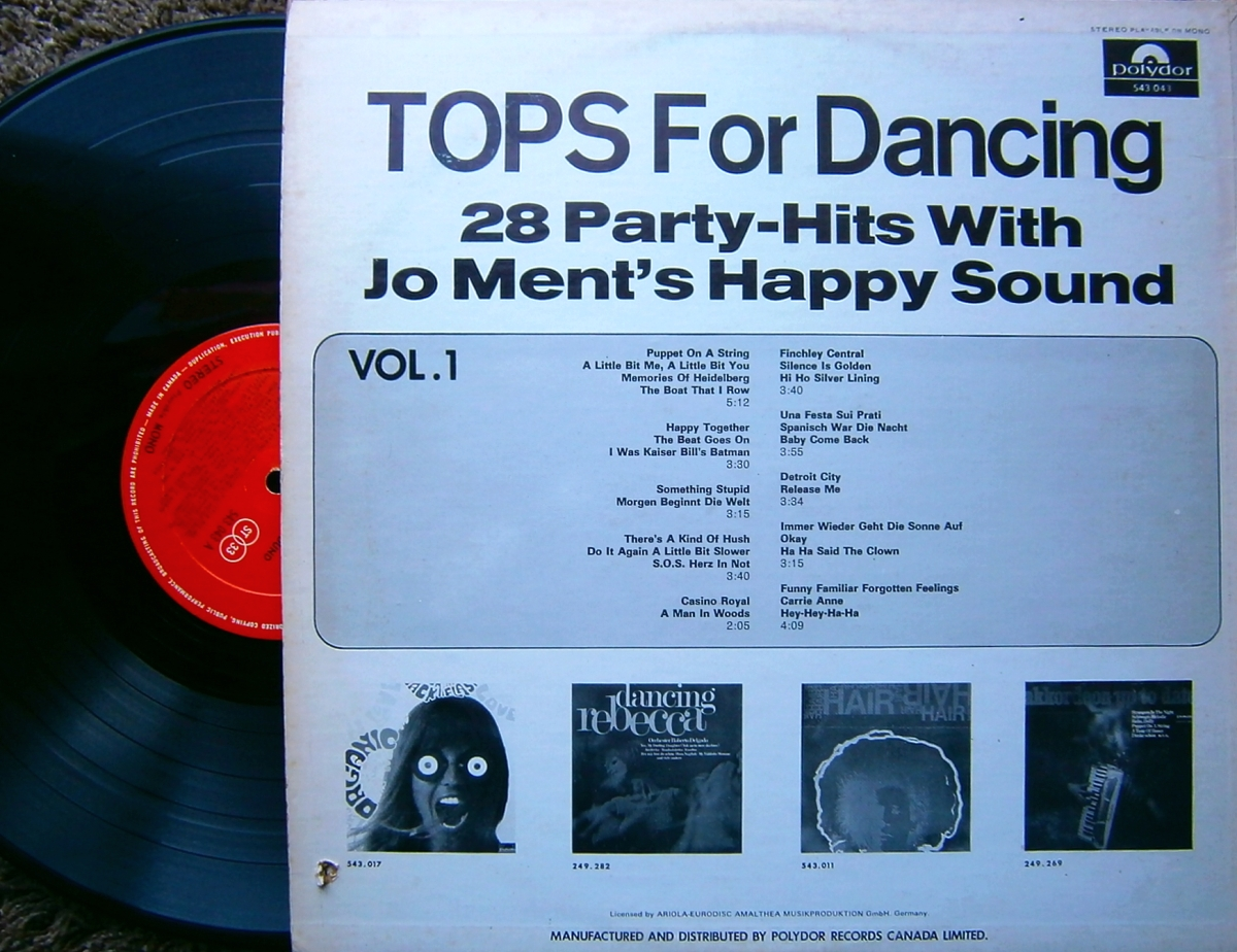 Jo Ment's Happy Sound Joe Ment's Happy Sound Tops For Dancing