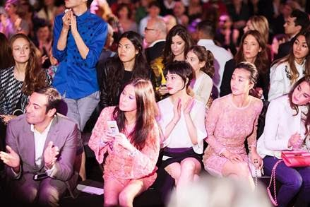 Josie Ho and Yvette at Paris Fashion Week