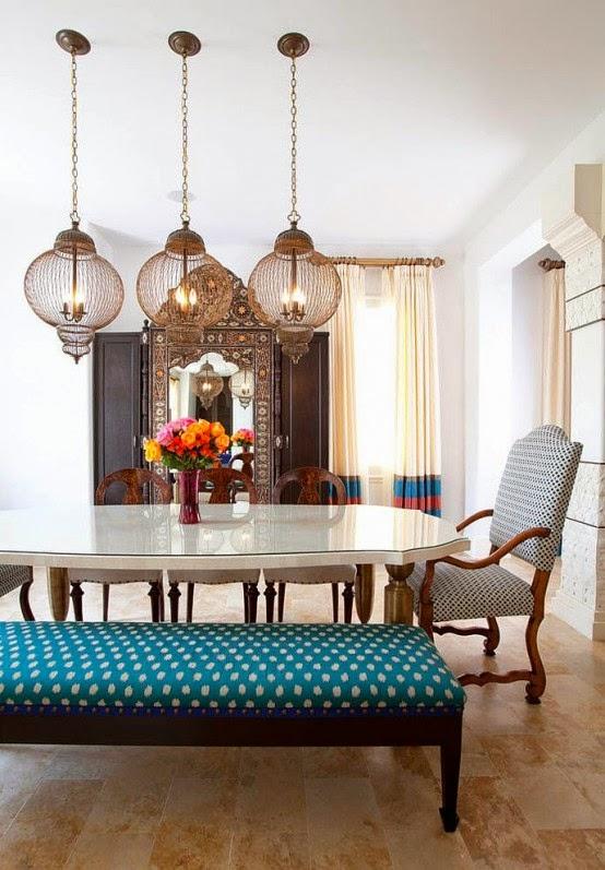 تصميمات رائعه لغرف المعيشه المغربيه  Exquisite-moroccan-dining-room-designs-8-554x797