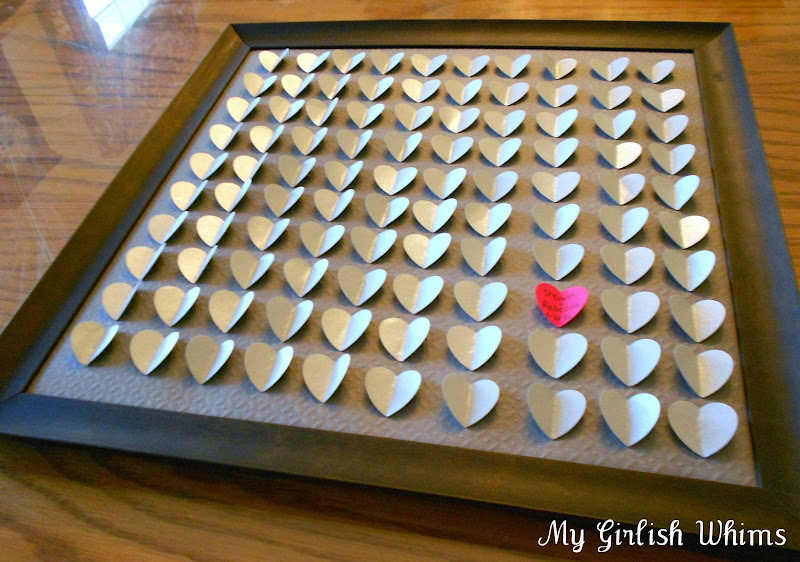 Diy wedding guest book my girlish whims my girlish whims solutioingenieria Images