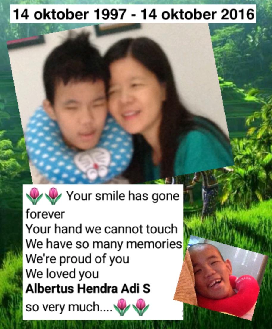Hendra anakku sayang....