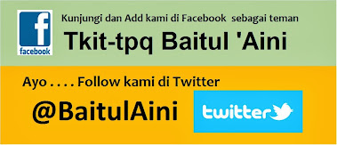 Ayo . . . Add kami di Facebook & Follow kami di Twitter