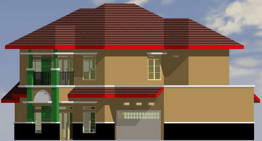 Model Desain Rumah Minimalis Terbaru 2014