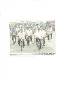 Prime Minister of Malaysia,24/7Tugas dan berbasikal,senaman satu permulaan baik.Nu-Prep100 MEMBANTU