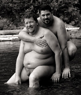 gay couple - fat gays - hot gay photography