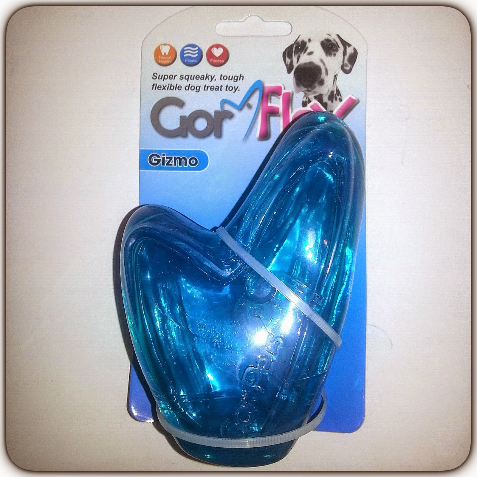 A Spaniels Tail Gor Flex Gizmo dog toy