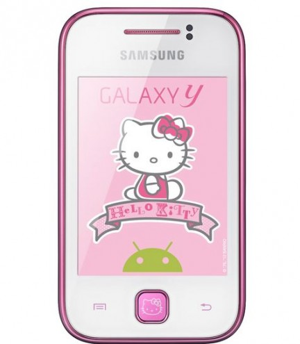 Samsung introduces the new Hello Kitty Galaxy Y! - Technology, iPhone