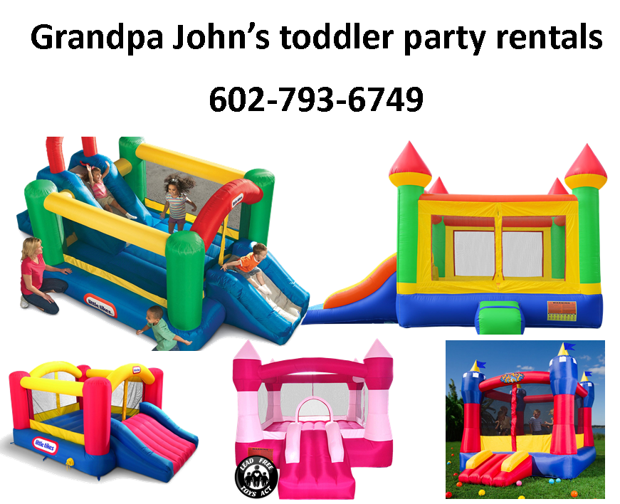 Phoenix AZ inflatable toddler bounce house rentals
