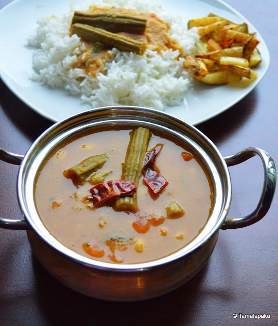 Drumstick Sambar From Chettinad