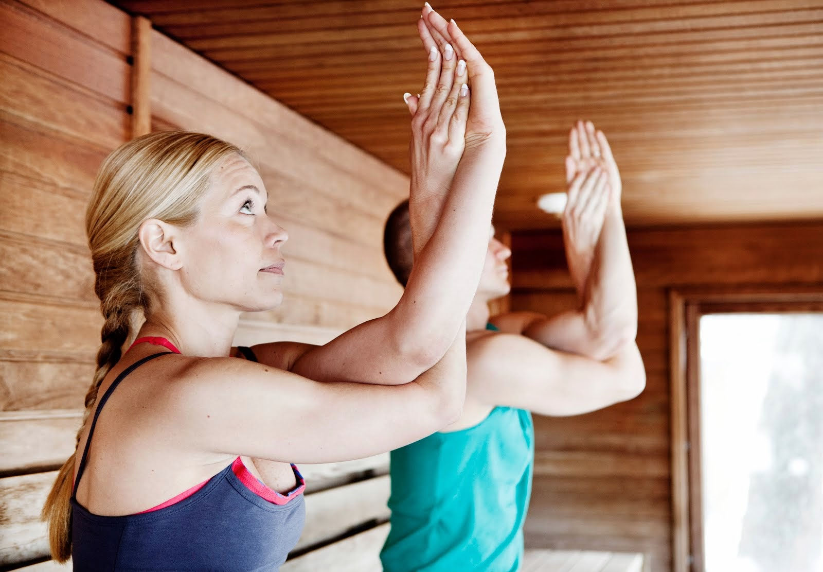Want to find out what saunayoga is?