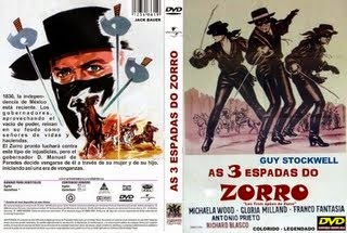 AS 3 ESPADAS DO ZORRO