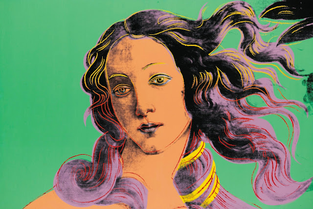 Birth of Venus (After Botticelli), Andy Warhol (1984)