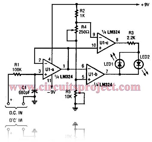 digital short finder circuit diagram