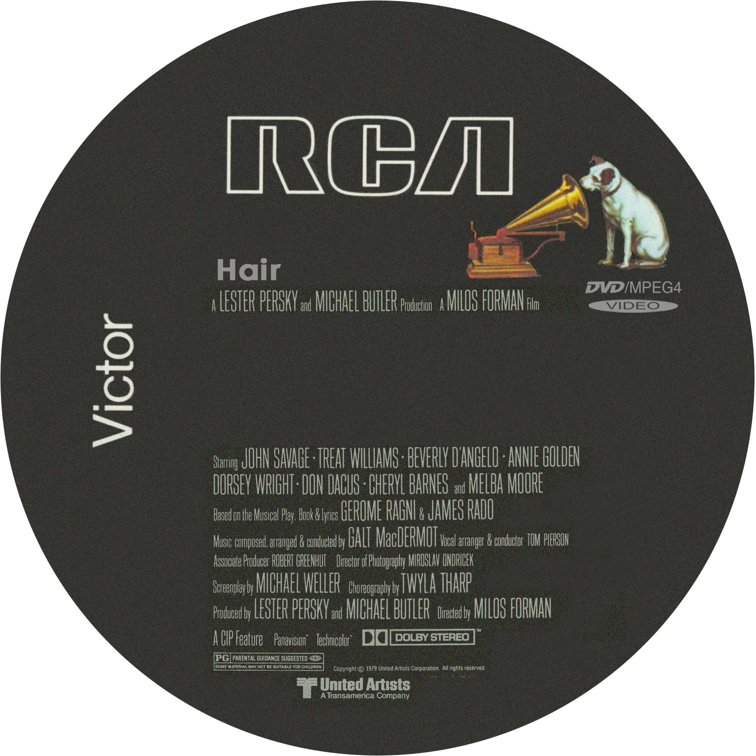 Music Crates Hair Soundtrack 1979