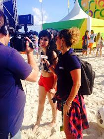 ESPN - Sósia Amy Winehouse no Campeonato Mundia de Surf
