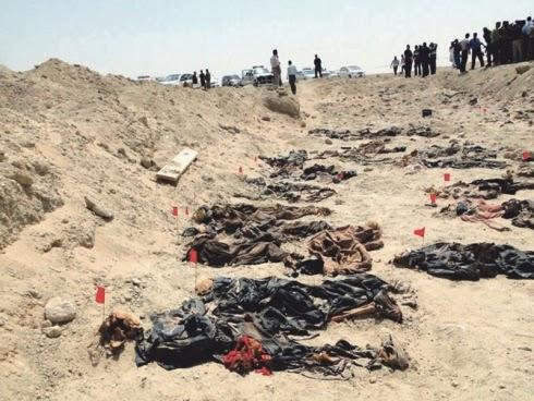 500 mayat ditemui dalam satu lahad di Iraq