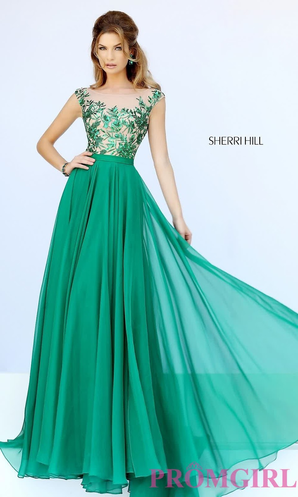 Fashionable Modern Prom Dresses ; Emerald Green | inspiration of ...