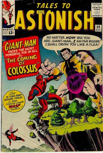 Tales to Astonish #58, Giant-Man vs Colossus