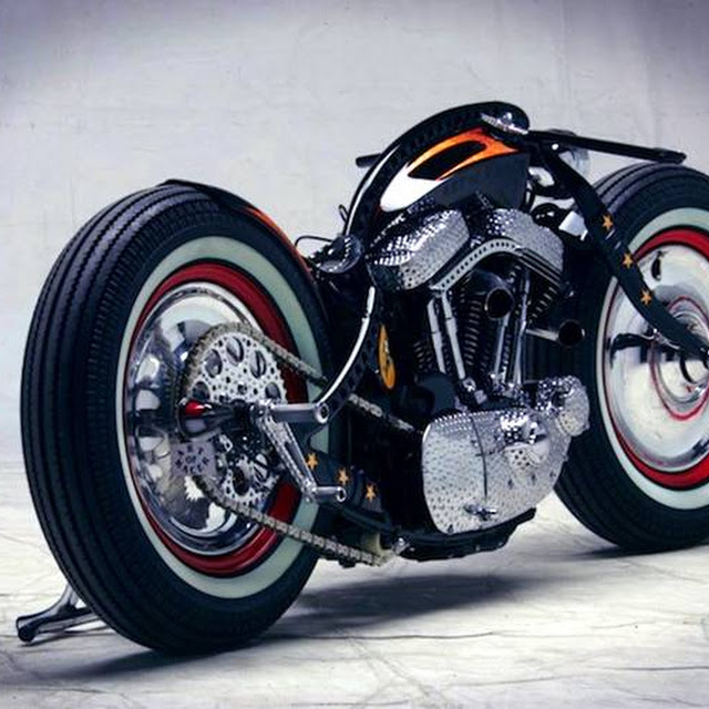 Harley Davidson Sports Modified Bikes Mileage