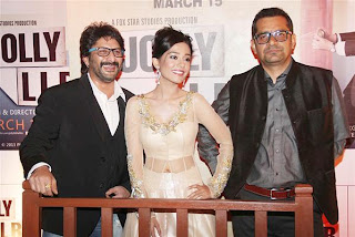Arshad, Amrita, Akshay and Subhash at 'Jolly L.L.B.' Premiere