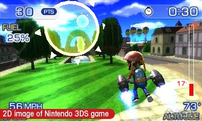 PilotWings Resort, screen, image, ds3, game