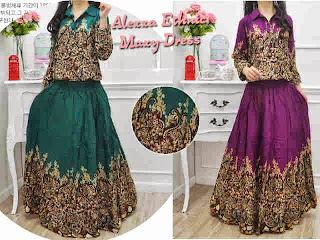 Alexa Ethnic Maxi Dress