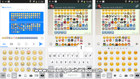 Divertidos emoticones con Emoji Keyboard for WhatsApp