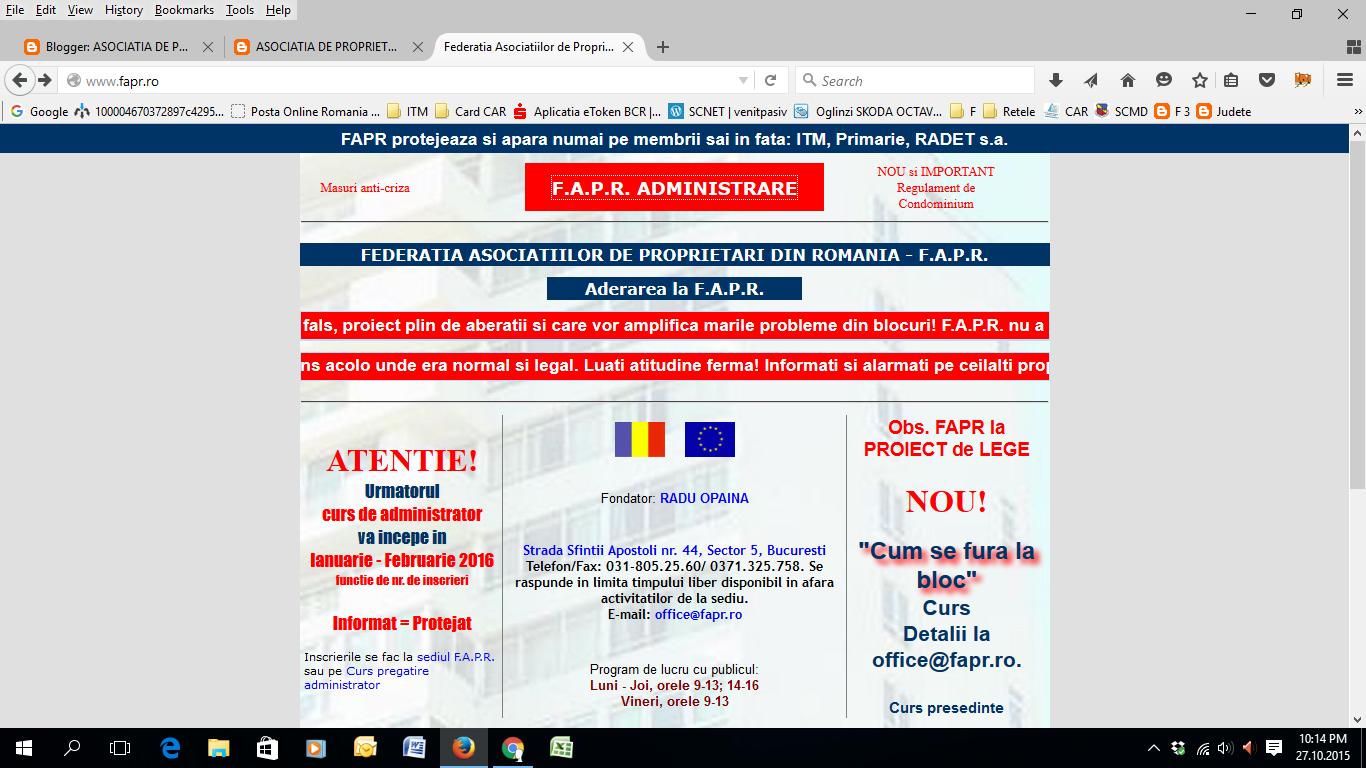 Federatia Asociatiilor de Proprietari din Romania