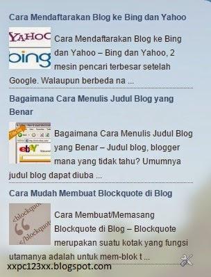 preview random post dengan gambar di blogger (Gambar tidak terlihat? Klik kanan tulisan ini, lalu pilih 'Reload Image!'