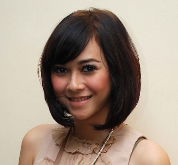 Model Rambut Untuk Wajah Bulat Tips Cantik Dan Seksi - Gaya rambut pendek buat wajah bulat