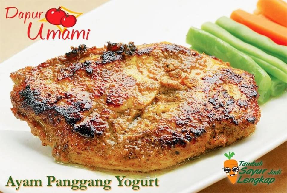 Resep Ayam Panggang Yoghurt