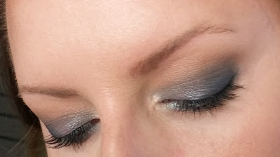Makeup geek Blue shadow