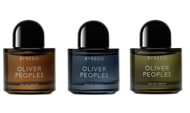 Byredo Oliver Peoples w trzech wersjach kolorystycznych