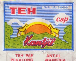 Koleksi kemasan teh