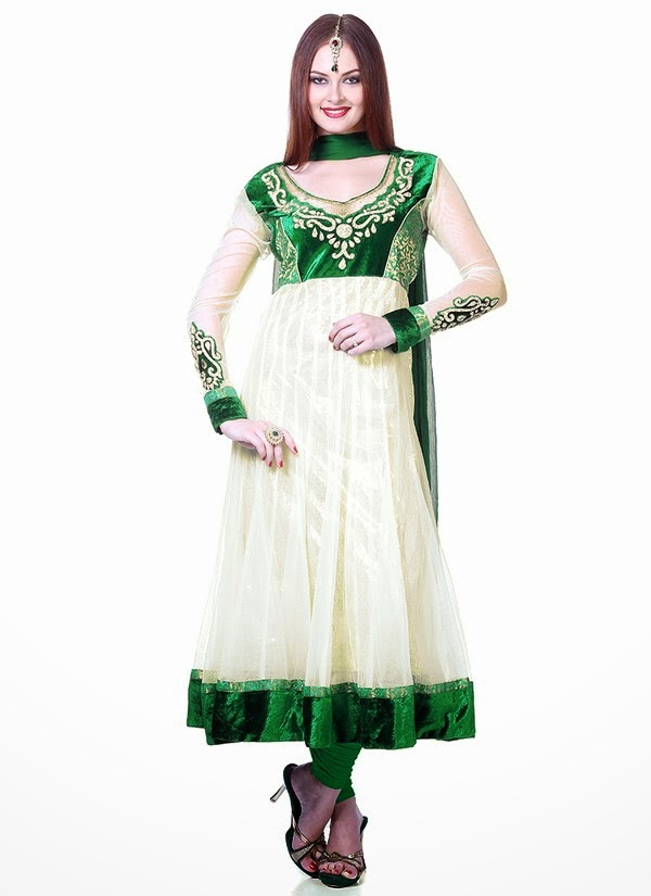 Simple Salwar Kameez 10wwwShe9blogspotcom - **Polling For Life style & Fashion Competition August 2014**