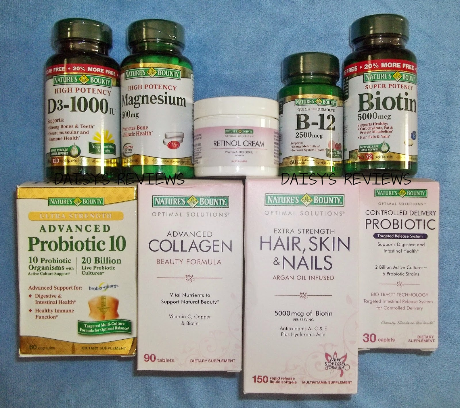 Natures bounty vitamins reviews - I Was Sent To Review Nature S Bounty Vitamins Each Nature S Bounty Are Very Different I Was Sent A Couple Of Nature S Bounty Optimal Solutions