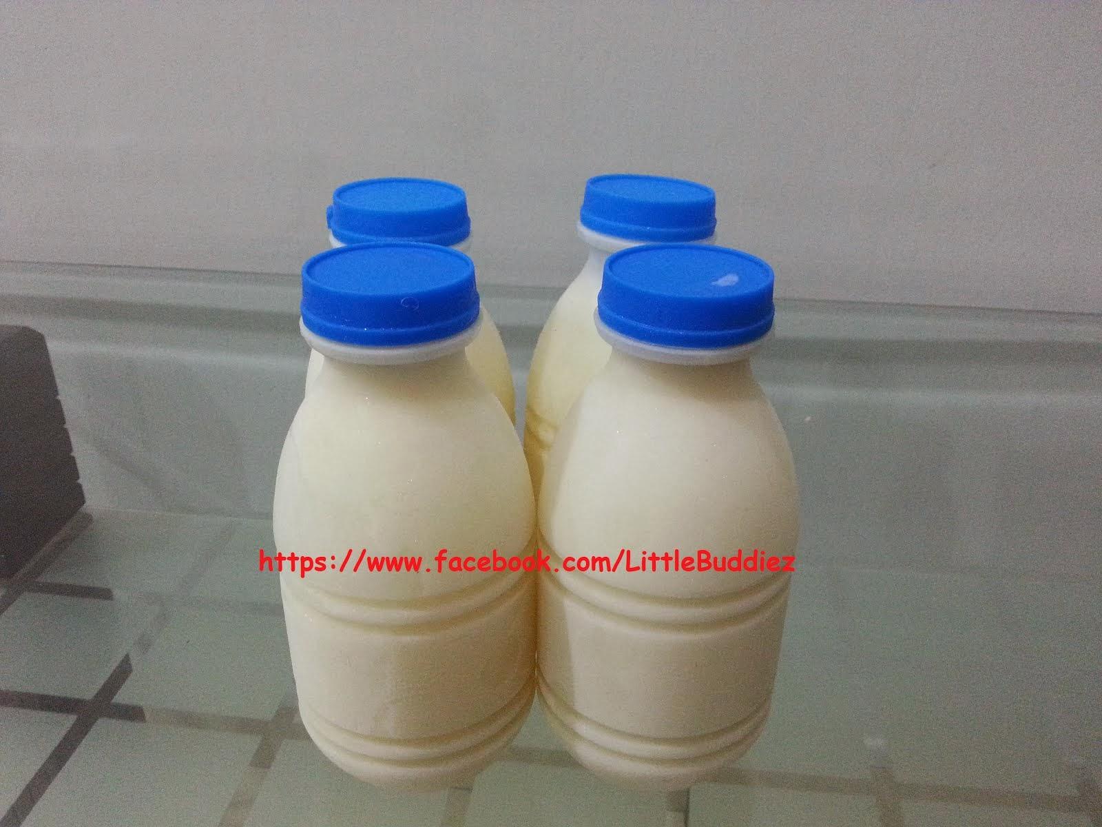 Susu Kambing Segar Sejuk Beku